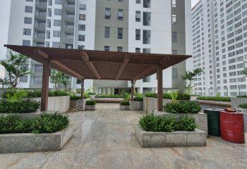 Sân vườn tầng 7 Central Premium