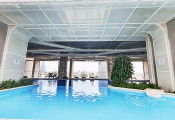 Hình ảnh thực tế hồ bơi dự án deCapella