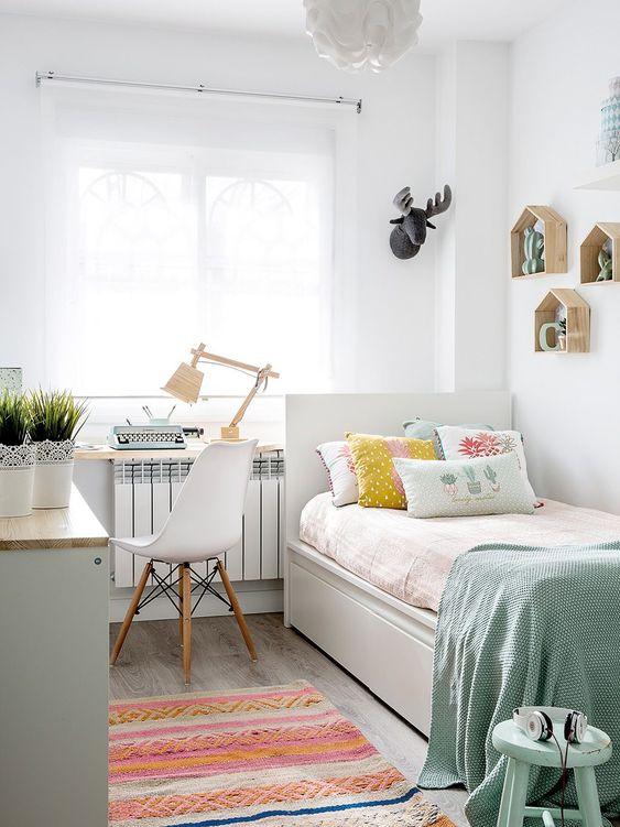 Cách trang trí đẹp mắt dành cho những phòng ngủ nhỏ