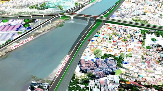 TP.HCM: Xem xét xây cầu hơn 2.000 tỉ đồng nối trung tâm với khu Nam
