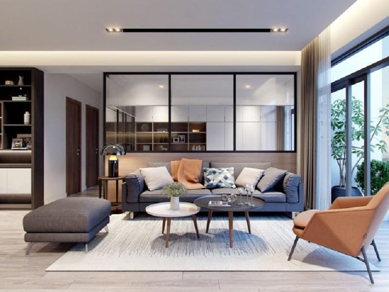 Cách trang trí nội thất phòng khách chung cư tạo ấn tượng