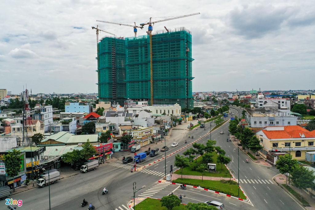 Giá căn hộ ở Bình Dương đang vượt TP.HCM?