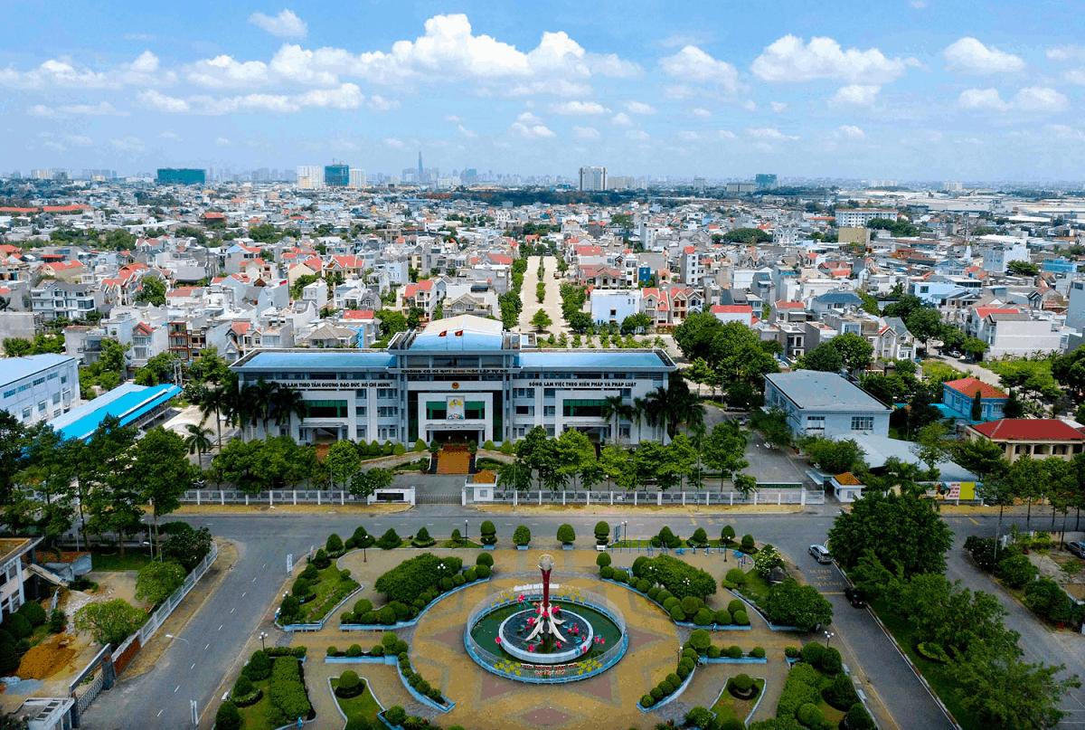 Thuận An lên thành phố tạo đà cho thị trường địa ốc