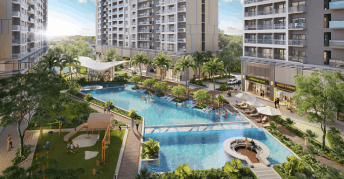 Anderson Park mang resort vào không gian sống